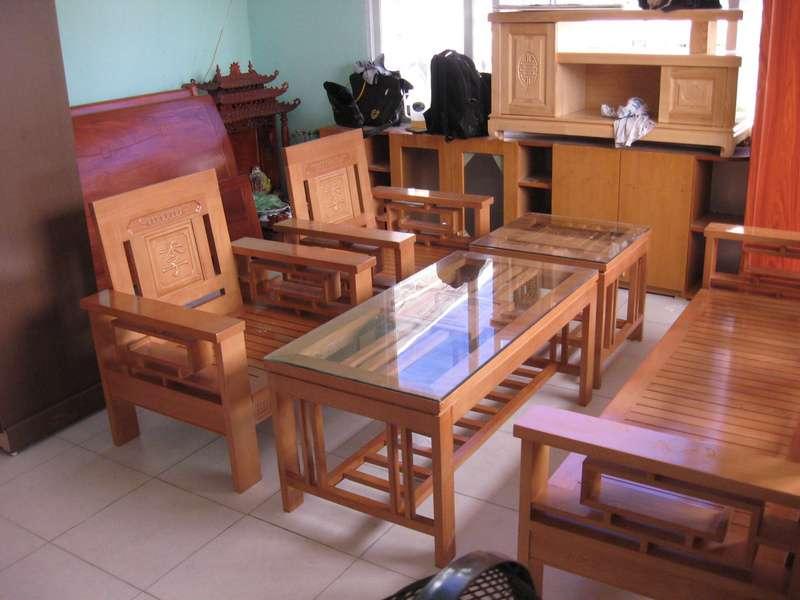 Làm đệm ghế gỗ tại gia chất lượng