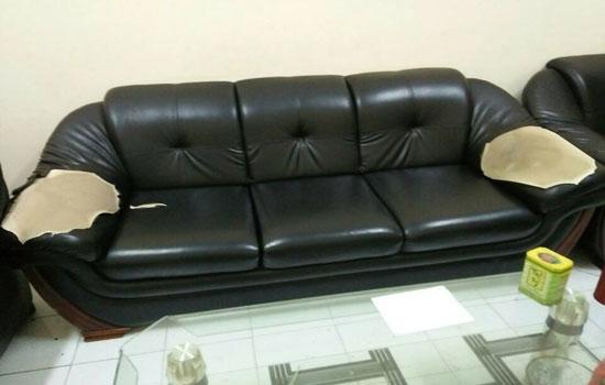 Bán da bọc ghế sofa tại hà nội