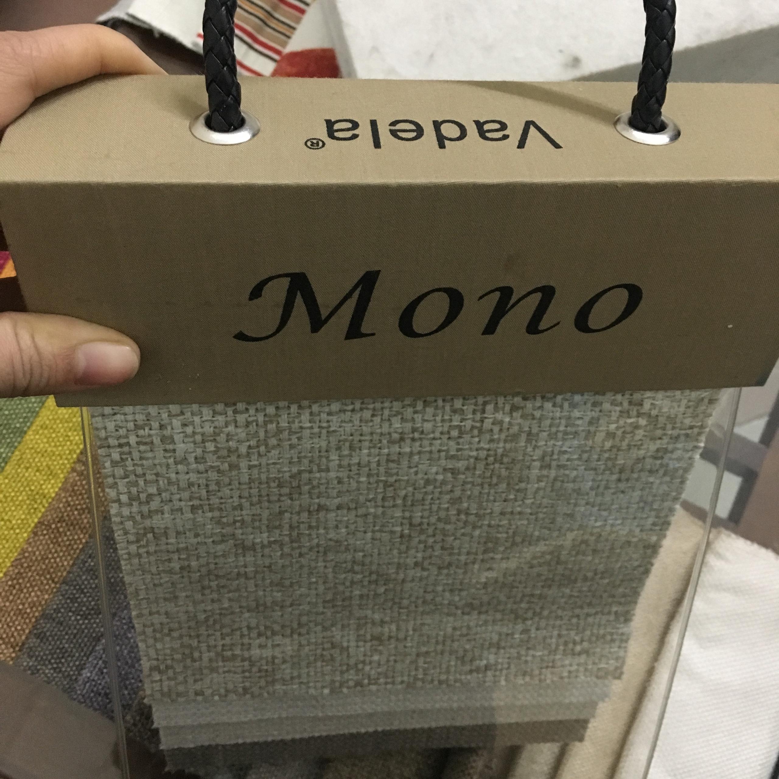 Bộ sưu tập vải thô Vadela Mono cao cấp