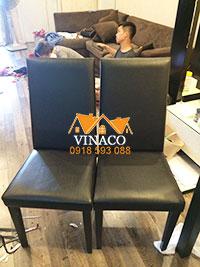 Bọc ghế ăn tại khu Ngoại giao đoàn Xuân Tảo, Từ Liêm, Hà Nội
