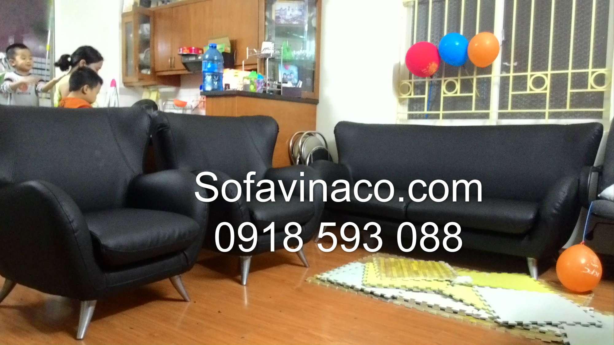 Bọc ghế sofa da 0215