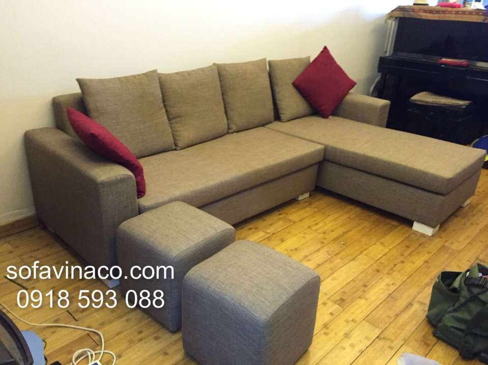 Bọc ghế sofa góc 0209