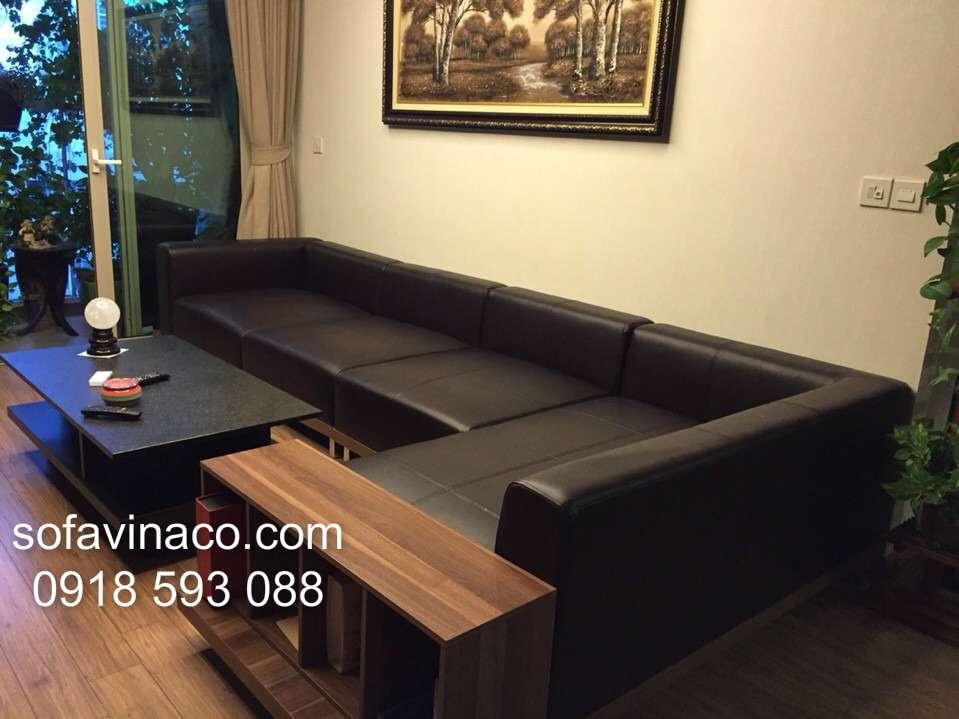 Bọc ghế sofa nhà anh Tùng - Mandarin Garden