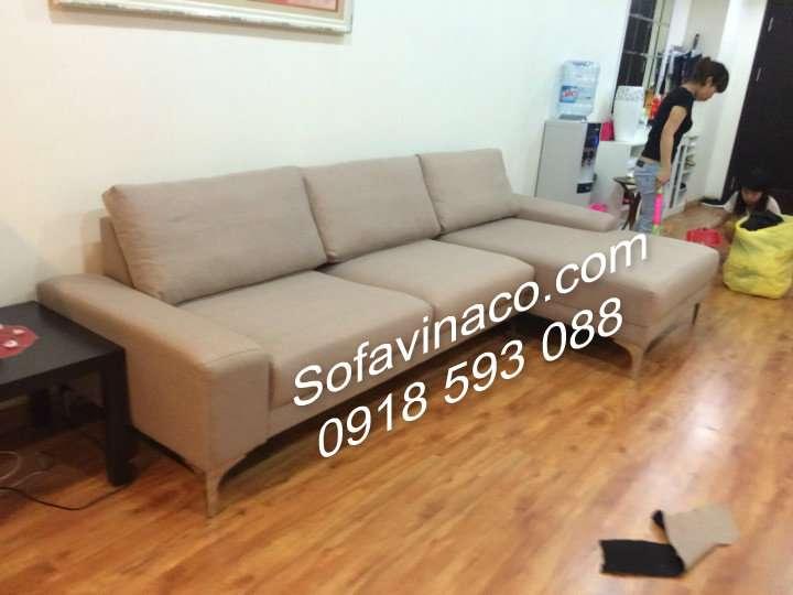 Bọc ghế sofa vải nỉ - Chị Trà My - 229 Tây Sơn - Đống Đa - Hà Nội