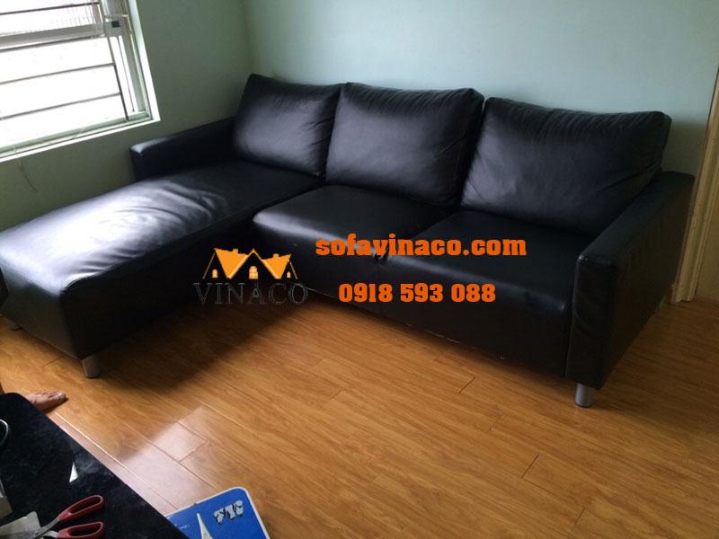 Bọc lại ghế sofa da Đặng Xá Gia Lâm
