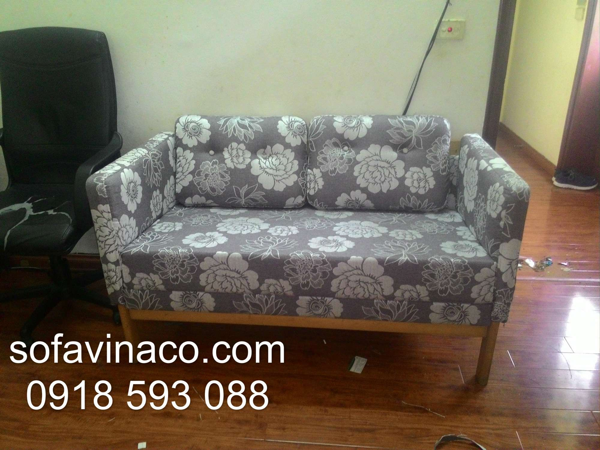 Bọc lại ghế sofa đôi 01
