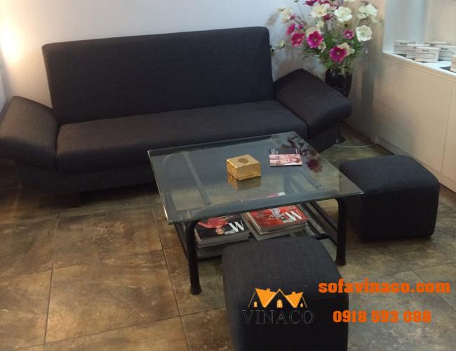 Bọc lại sofa nỉ tại 181 Nguyễn Lương Bằng, Đống Đa, Hà Nội