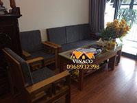 Đệm lót ghế gỗ mềm mại và sang trọng tại Hà Nội