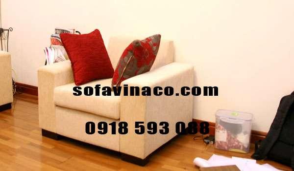 Dịch vụ bọc lại ghế sofa đơn tại nhà