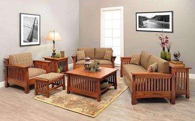 Hướng dẫn lựa chọn đệm ghế gỗ phòng khách hiện đại