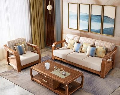 Làm đệm cho sofa gỗ ở đâu đẹp