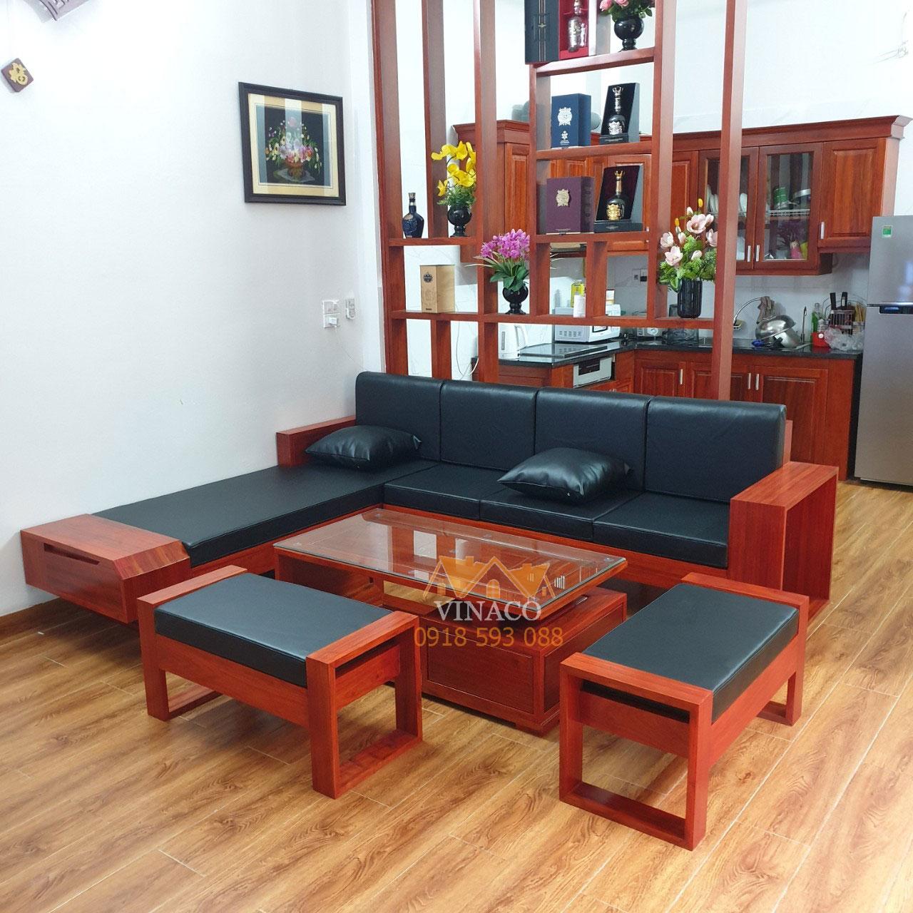 Làm đệm ghế sofa bằng da nhân tạo