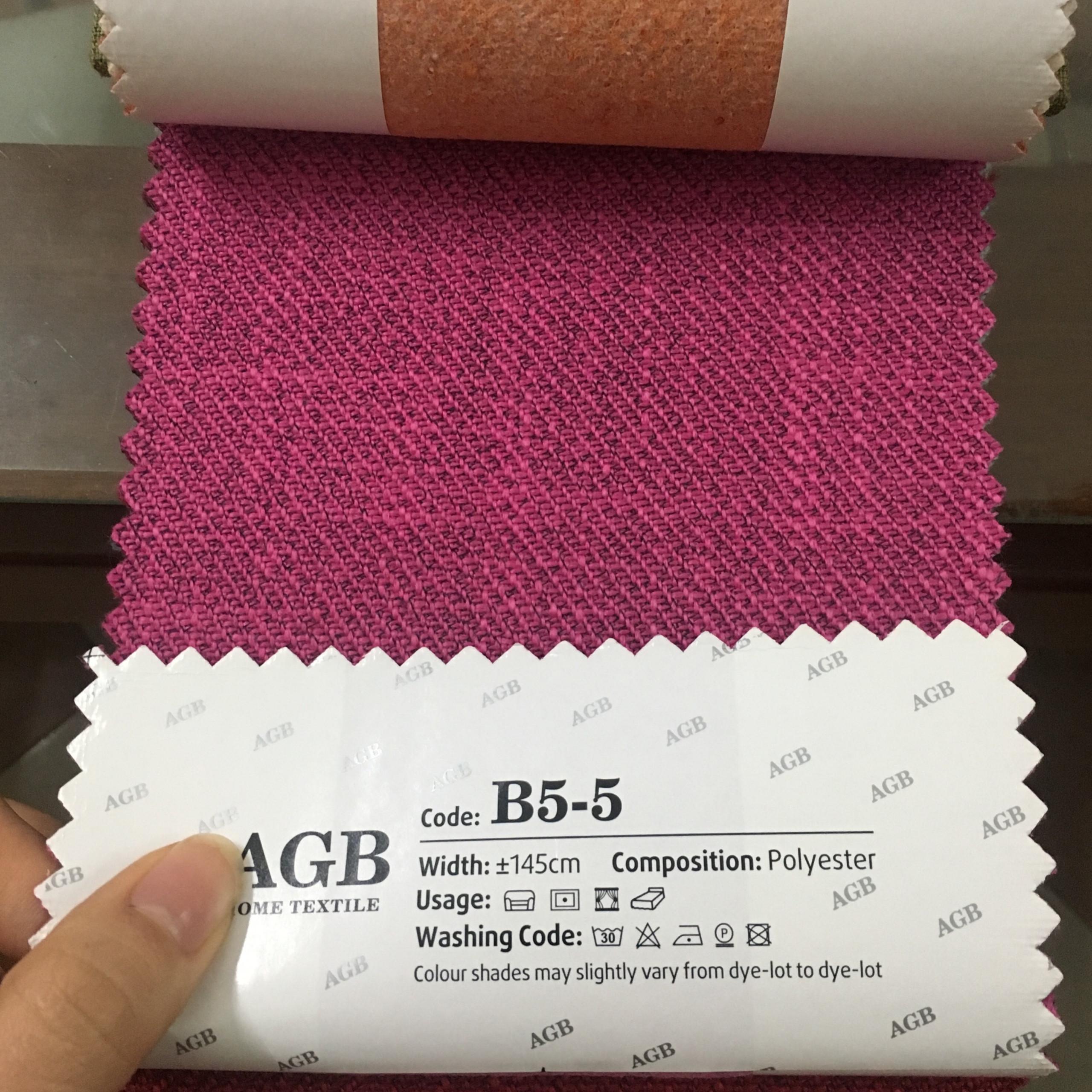 Mẫu vải thô xoắn B5