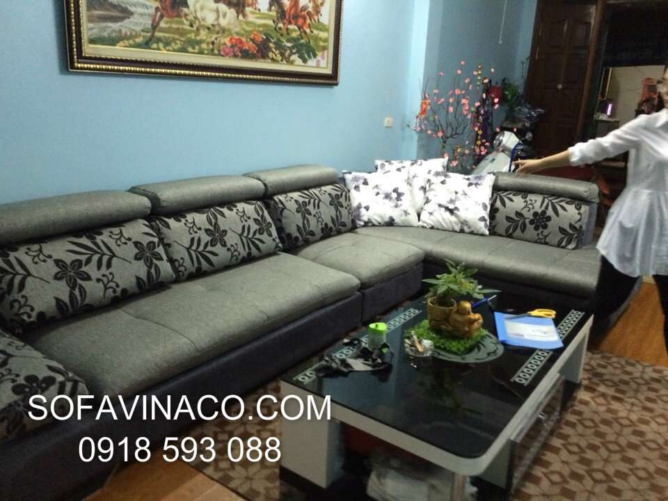 May vỏ đệm ghế sofa - Chị Trang- Phan Văn Trường