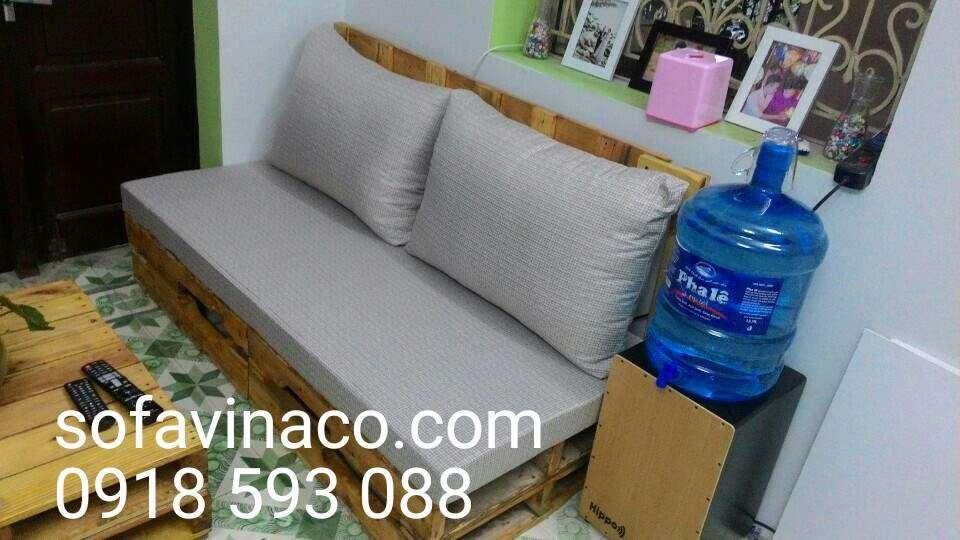 Mua đệm ghế sofa gỗ ở đâu hà nội