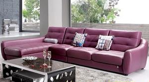 Sofa da cao cấp D002