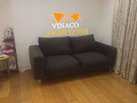 Thay vỏ bọc cho ghế sofa đơn tại nhà Hà Nội - Bọc ghế sofa