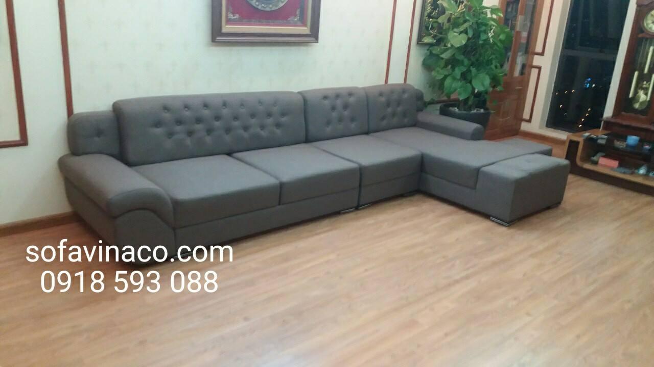 Thay vỏ mới cho ghế sofa, từ da thành vải - bọc ghế sofa tại Hà Nội