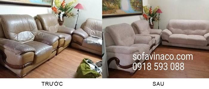 Top 10 sản phẩm mới nhất của bọc ghế Sofa Vinaco