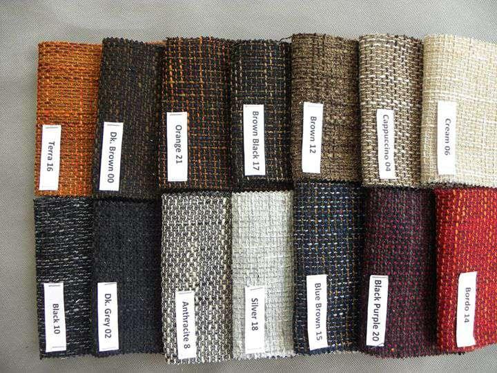 7 loại vải cơ bản bọc ghế sofa