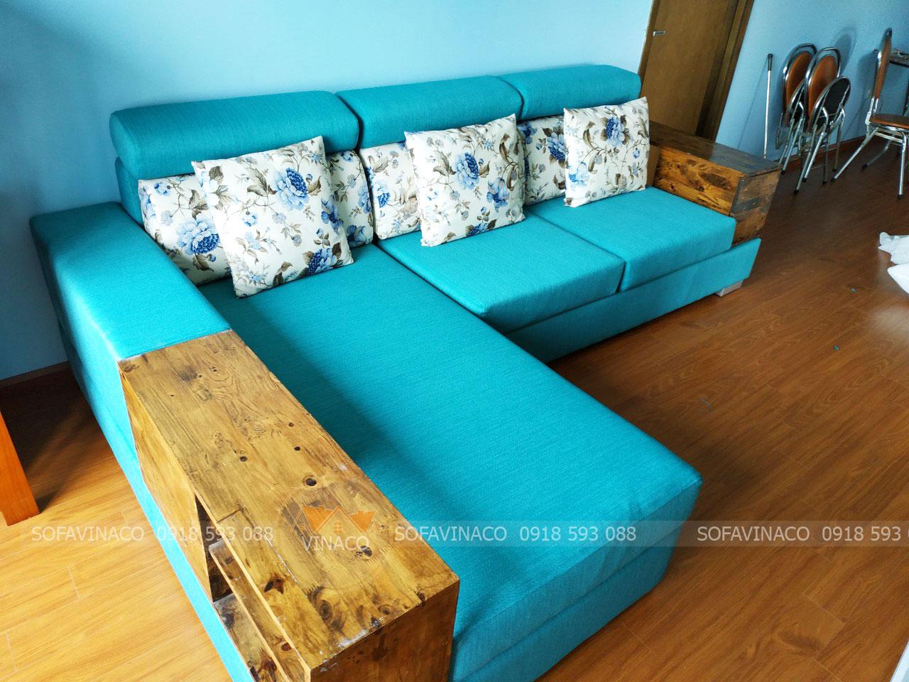 Bài trí sofa góc trong phòng khách như thế nào cho đẹp?