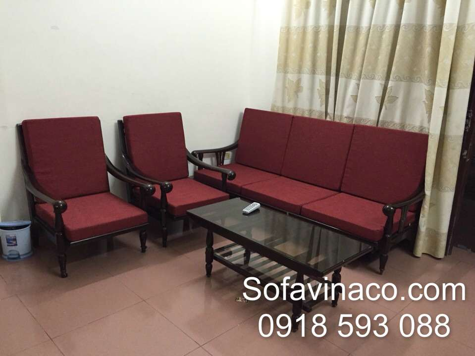 Bộ đệm ngồi ghế salong nhà Chị PhươngCầu Diễn