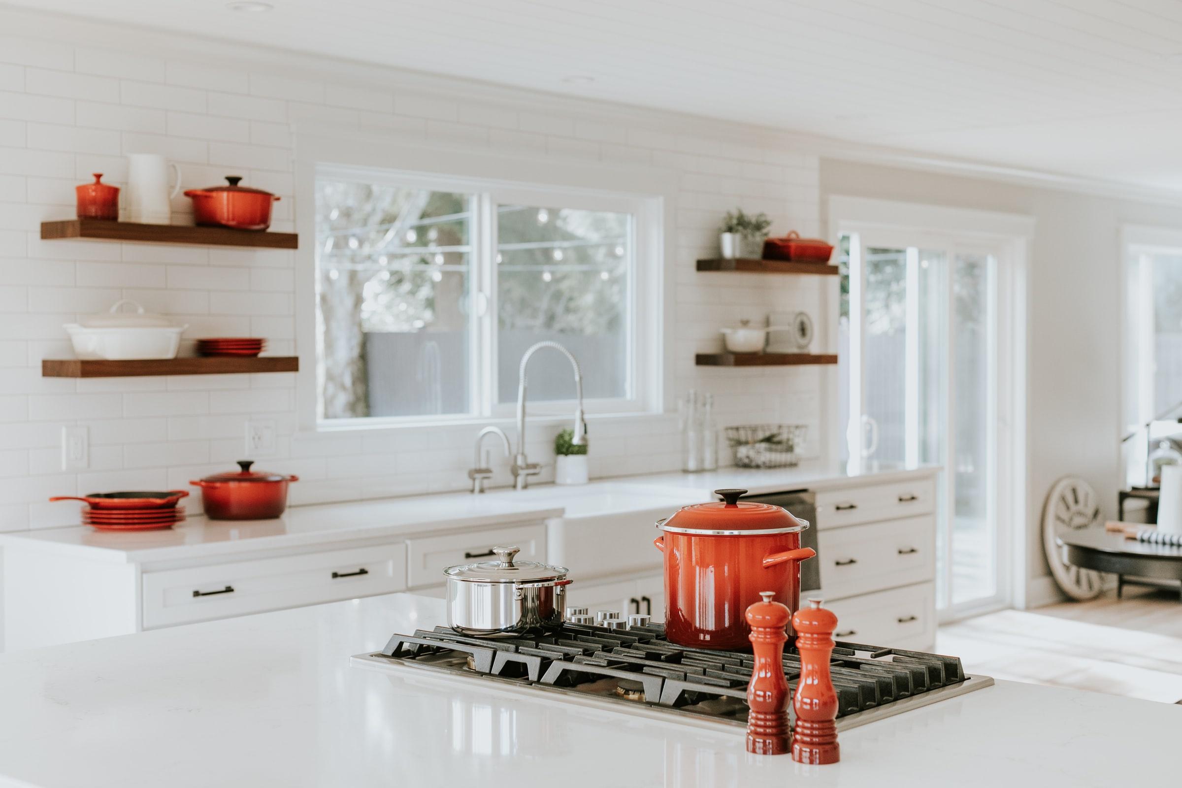 Bố trí nội thất trong gian bếp nhỏ theo cách của người nhật