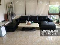 Bọc ghế sofa bằng da công nghiệp tại Nam Hồng, Đông Anh, Hà Nội