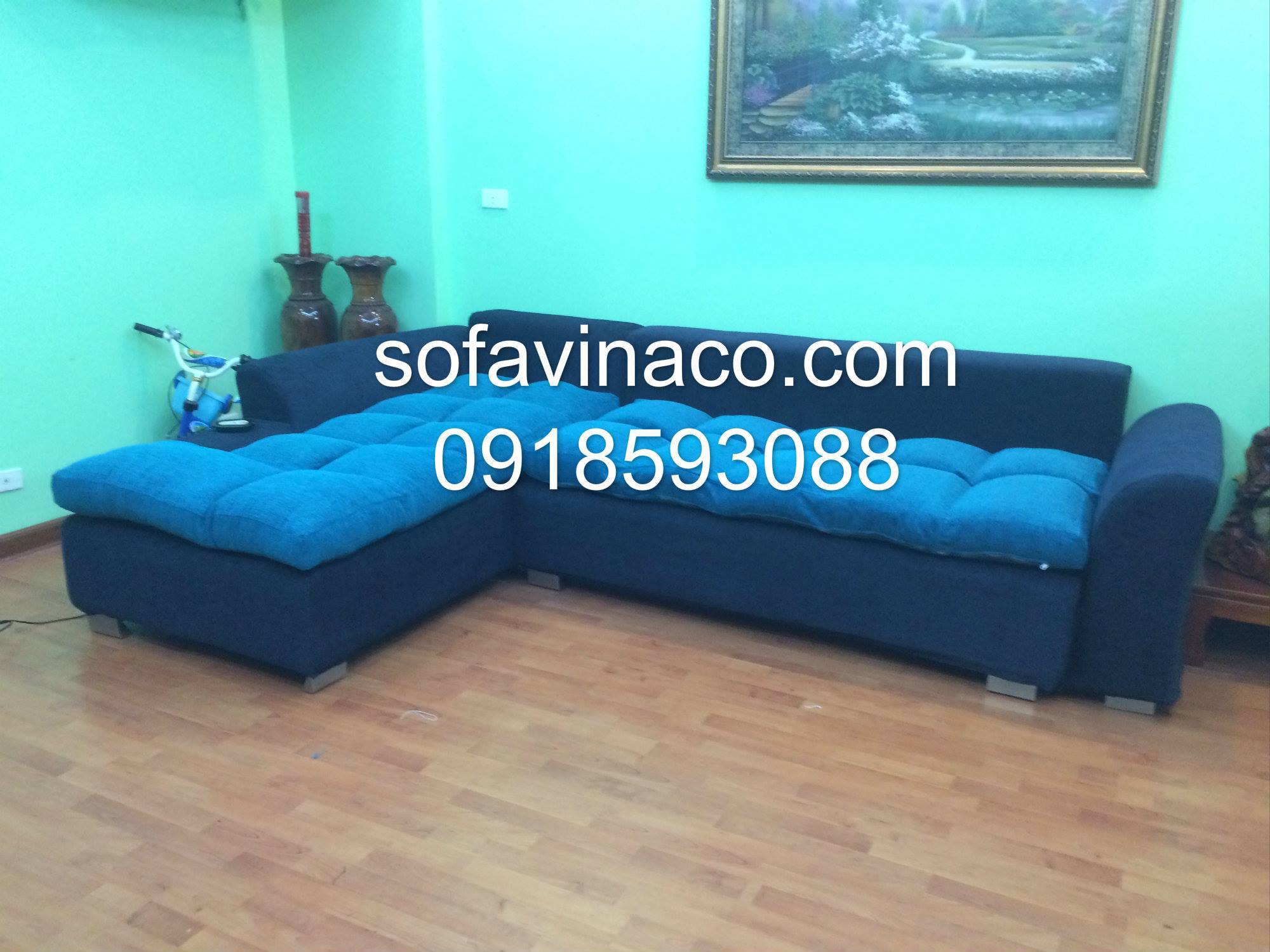 Bọc ghế sofa chung cư N06B2
