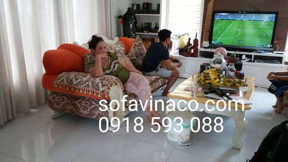 Bọc ghế sofa cổ điển
