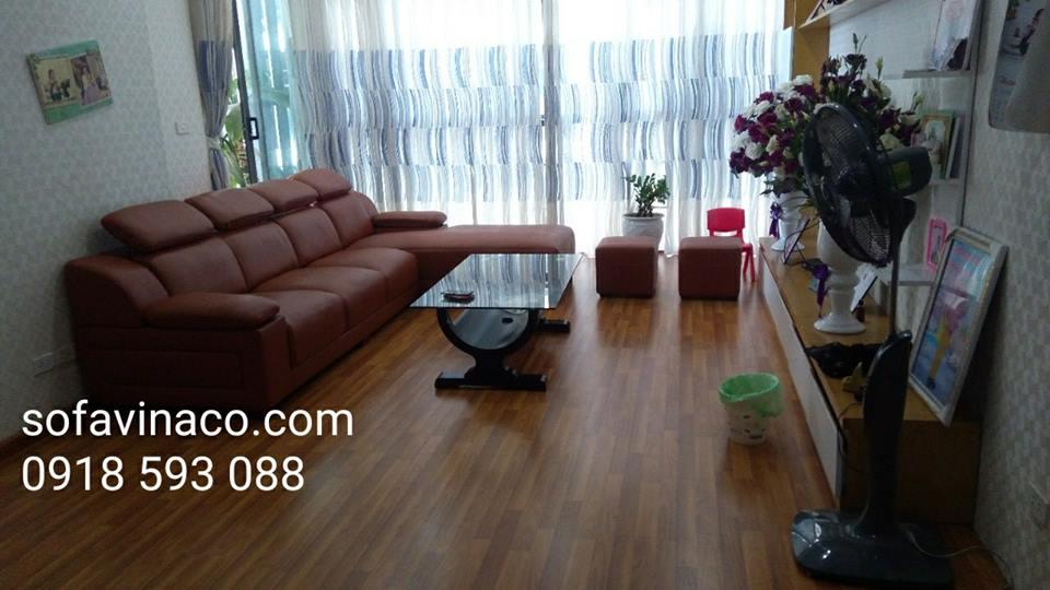 Bọc ghế sofa da tại Mỗ Lao Hà Đông