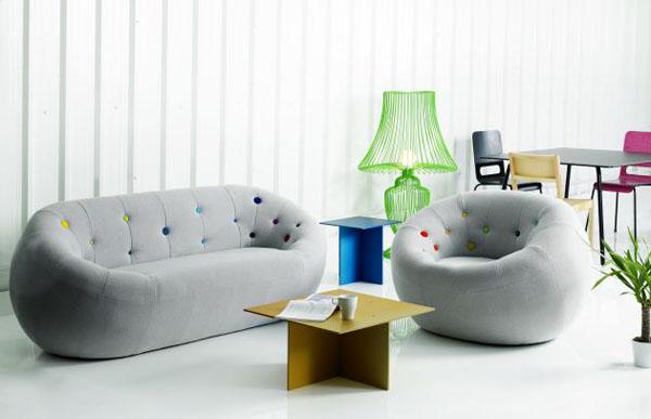 Bọc ghế sofa đơn cho không gian hiện đại