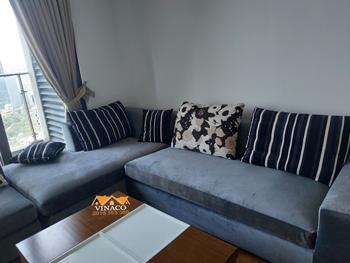 Bọc ghế sofa góc chất lượng tại tòa Indochina, Xuân Thủy