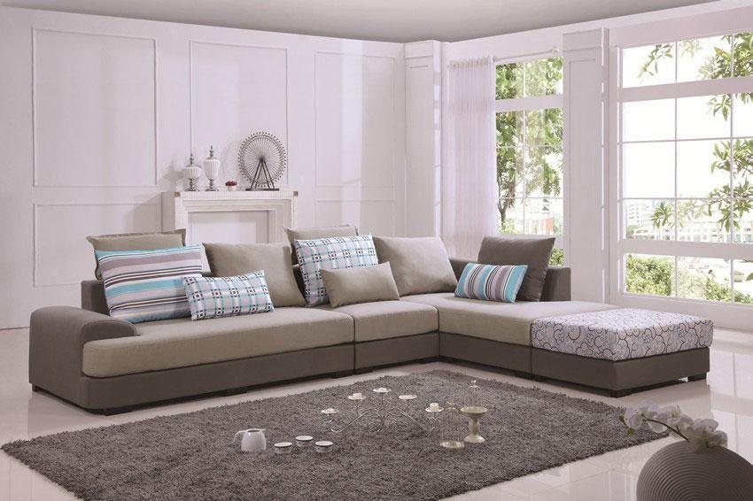 Bọc ghế sofa nỉ hiện đại cho không gian hoàn hảo