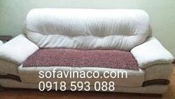 Bọc ghế sofa tại nhà cô ThủyHoàng Đạo Thúy, Cầu Giấy