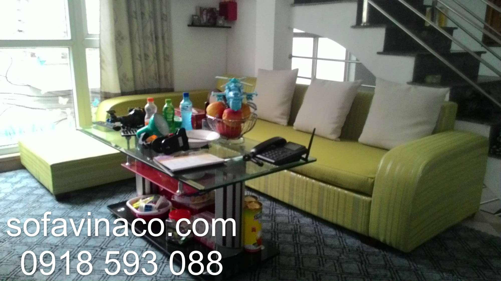 Bọc ghế sofa vải nỉ Hoàng Quốc Việt - Cầu Giấy