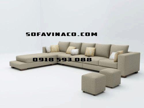 Bọc lại ghế sofa góc tại hà nội giá rẻ