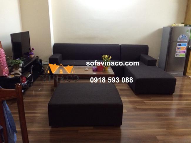 Bọc lại ghế sofa nỉ tại Tam Trinh, Hoàng Mai, Hà Nội