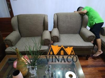 Bọc lại ghế sofa tại Đặng Thai MaiTây Hồ