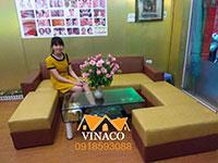 Bọc lại ghế sofa tại Trần Tử Bình Nghĩa Tân Cầu Giấy Hà Nội