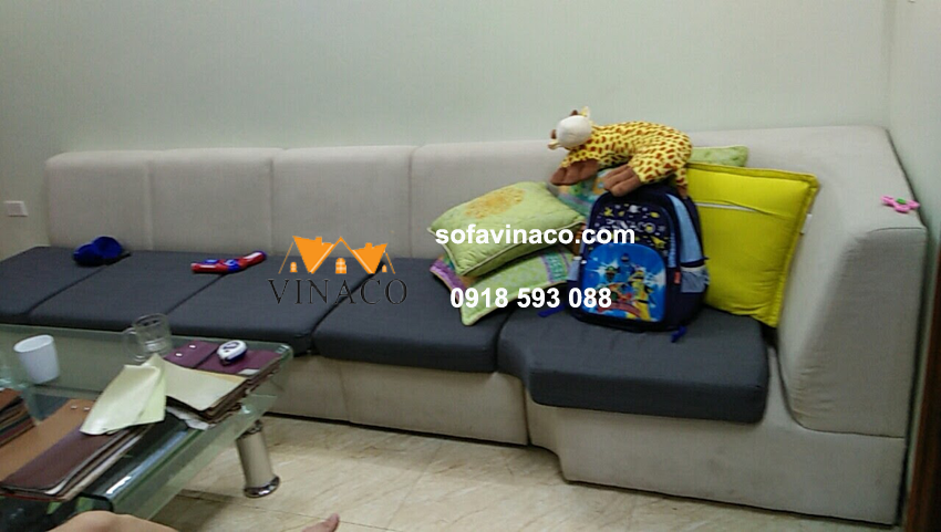 Bọc lại sofa tại Yên Ngưu – Thanh Trì, Hà Nội