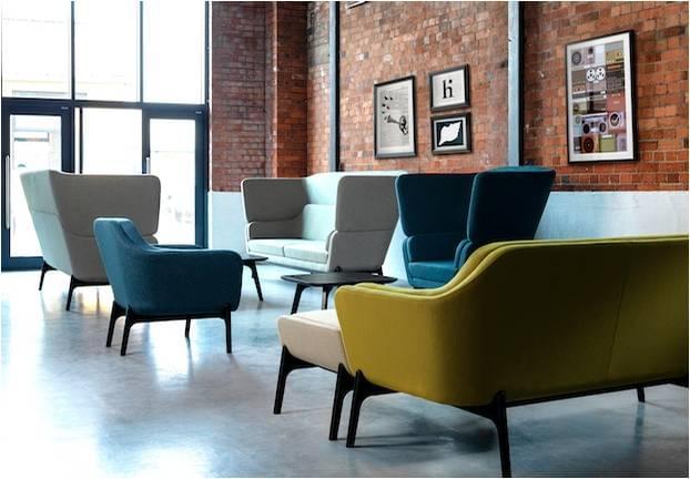 Chất liệu bọc ghế sofa văn phòng được yêu thích hiện nay
