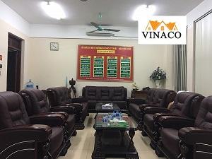 Công trình bọc ghế cho học viện quân đội tại Bắc Ninh