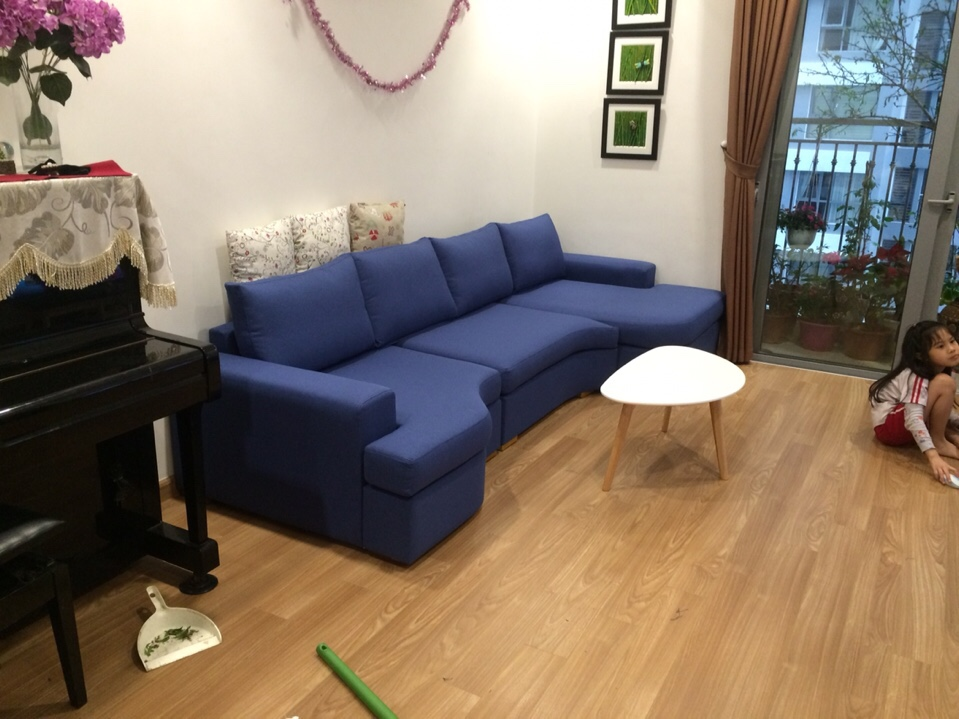 Công trình bọc ghế sofa tại nhà tại Timescity