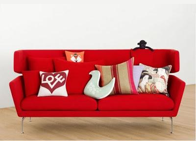 Cùng VINACO bọc ghế sofa với sắc đỏ đón Giáng Sinh