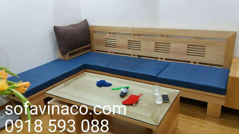 Đệm cho ghế sofa gỗ tại hà nội