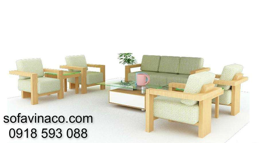 Đệm ghế sofa gỗ 0310