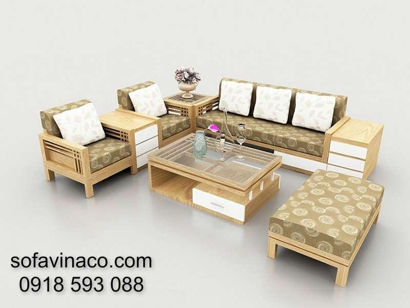Đệm ghế sofa gỗ 0410