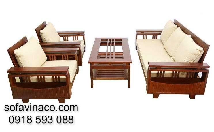Đệm ghế sofa gỗ 0510