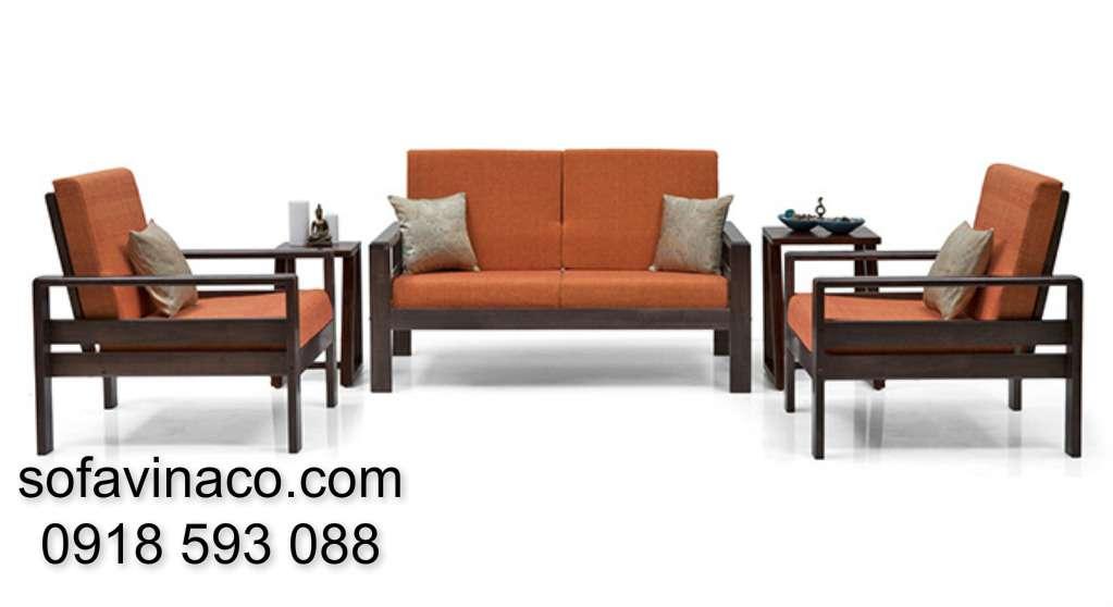 Đệm ghế sofa gỗ 1110